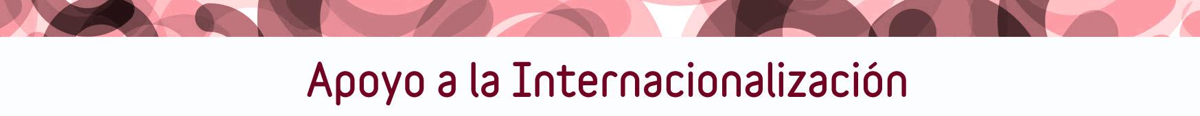 Apoyo a la internacionalizacion